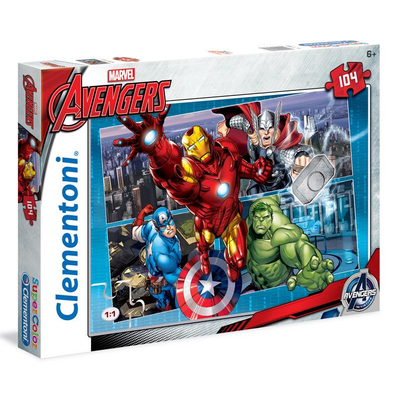 Puzzle Supercolor 104 dílků AVE
