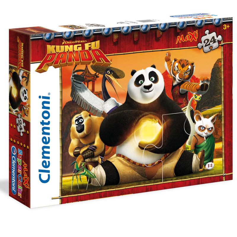 Puzzle Maxi Kung Fu Panda 24 dílků