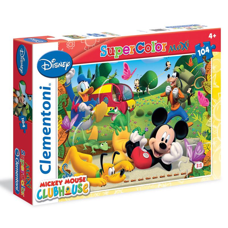 Puzzle Maxi Mickey Mouse 104 dílků