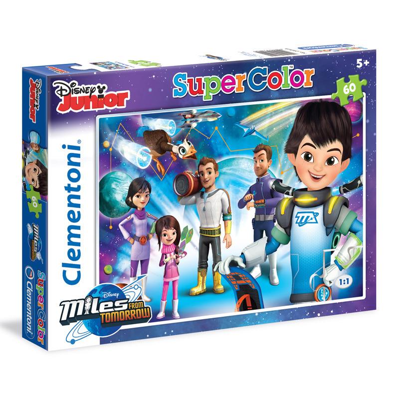 Puzzle Supercolor 60 dílků Miles from Tomorrow