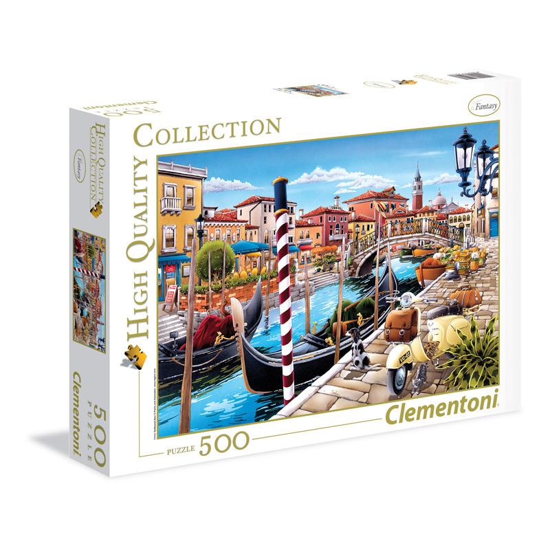Puzzle 500 dílků Benátská laguna