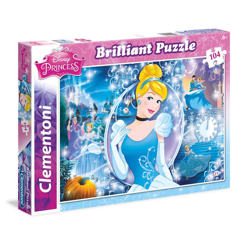 Puzzle Briliant Popelka 104 dílků