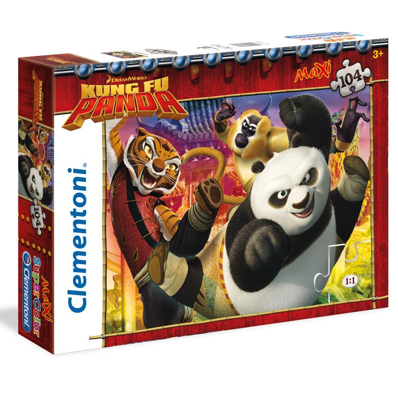 Puzzle Maxi Kung Fu Panda 104 dílků