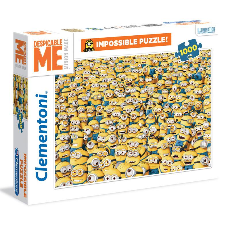 Puzzle Impossible 1000 dílků Mimoni 1000 ks