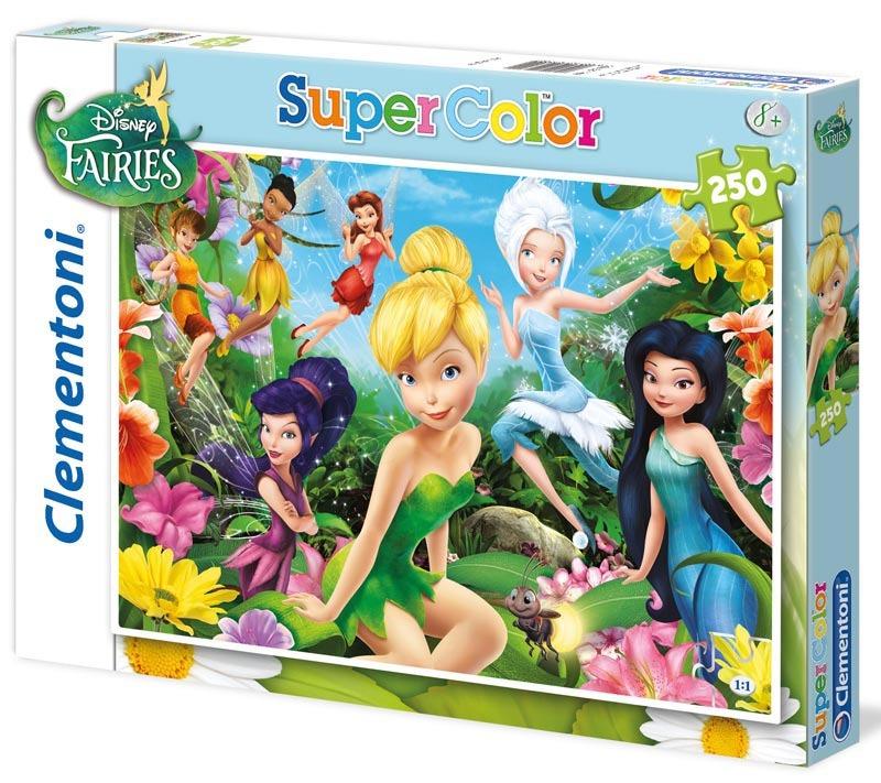 Puzzle Supercolor 250 dílků Víly