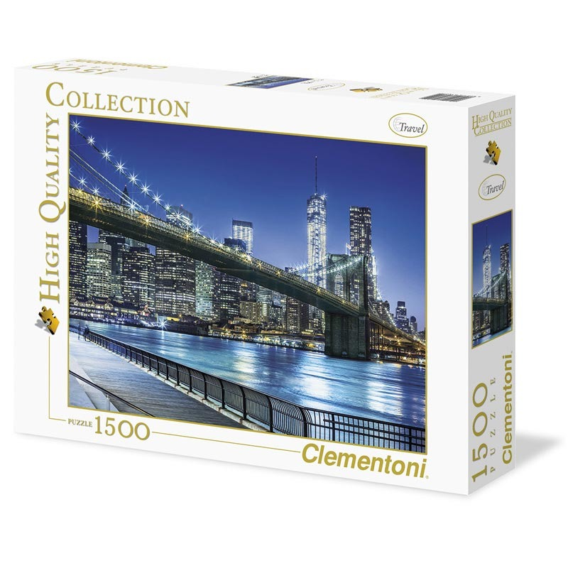 Puzzle 1500 dílků New York