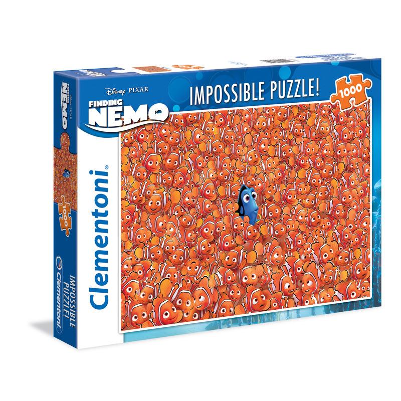 Puzzle Impossible 1000 dílků Hledá se Nemo