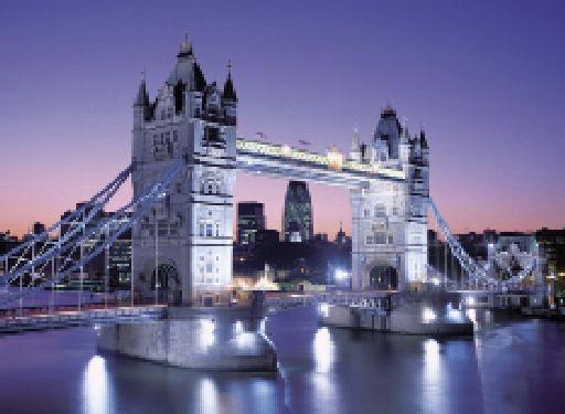 Puzzle 3000 dílků Londýn Most Bridge