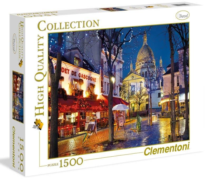 Puzzle 1500 dílků Paříž - Montmartre