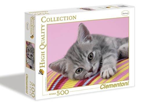 Puzzle 500 dílků Kotě