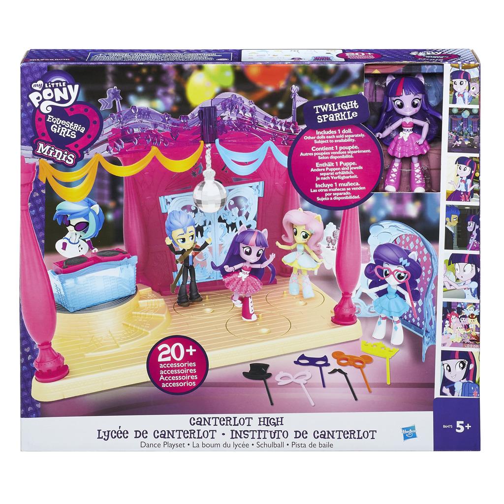 Equistria girls malé panenky hrací set - pódium
