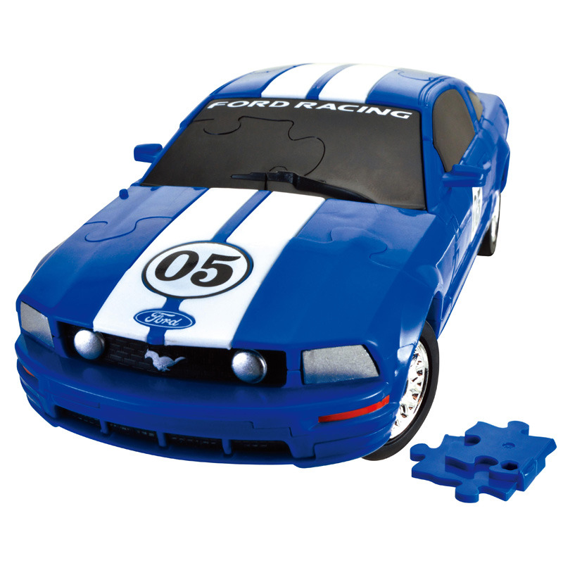 3D Puzzle 1:32 Ford Mustang
