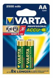 Baterie Varta 5716 ready2use AA (2500mAh, 1,2V, Ni-MH) 2ks