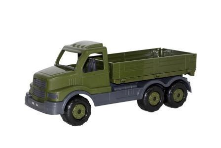 Nákladní auto s korbou vojenské