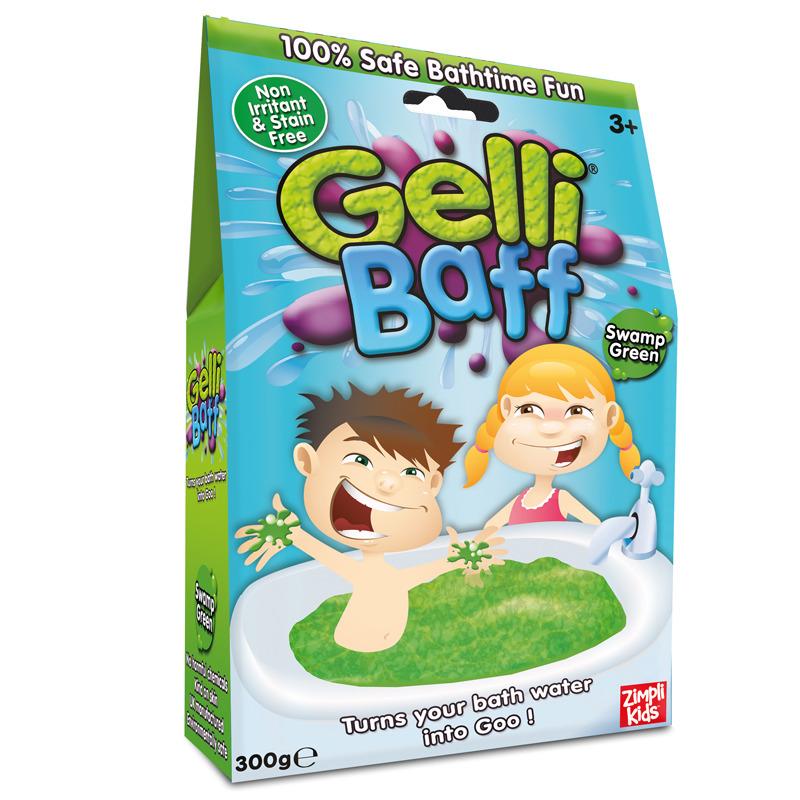 Koupelový gel zelený Gelli Baff