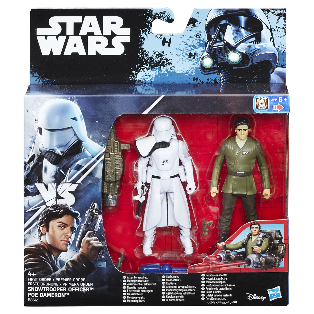 Star Wars s1 3.75 deluxe figurka 2-packs