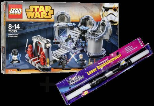 LEGO Star Wars 75093 Death Star Final Duel + Lightsaber