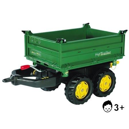 Vozík Rolly Toys Mega Trailer John Deere