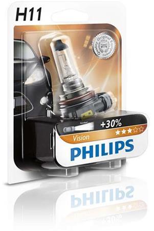 PHILIPS H11 Vision 1 ks blister