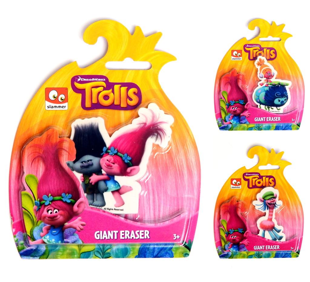 Školní guma giga Troll 3 druhy
