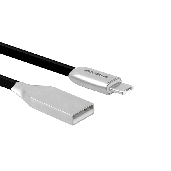 iMyMax 2in1 USB/Lightning Cable C7, Black