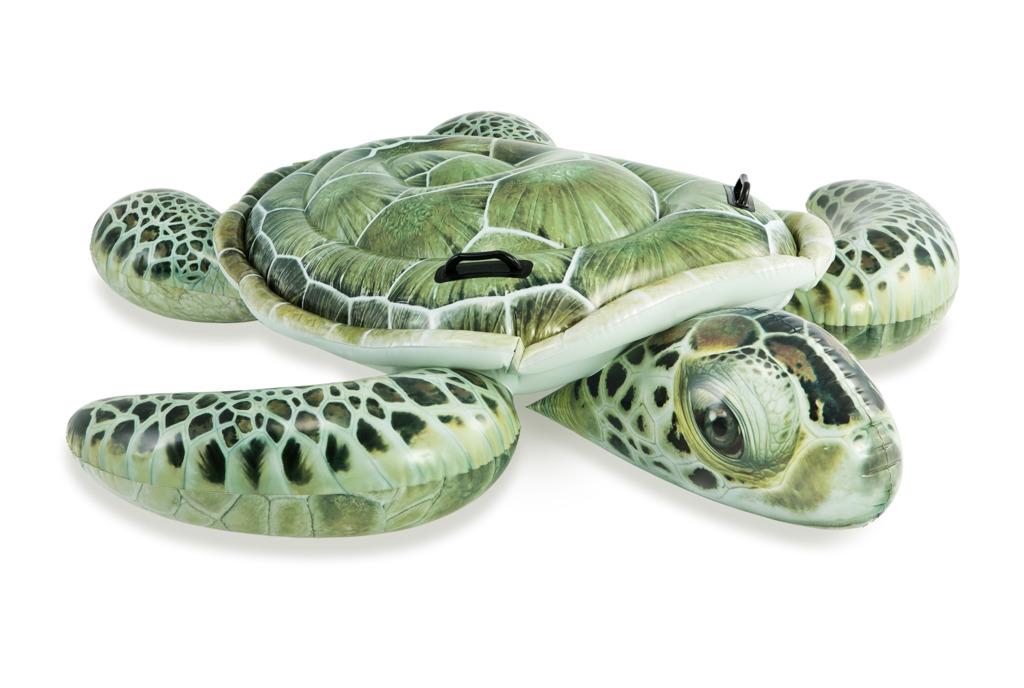 Vozítko do vody realistická želva 150x127cm