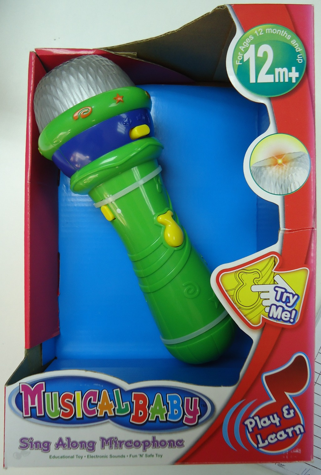Mikrofon pro miminka