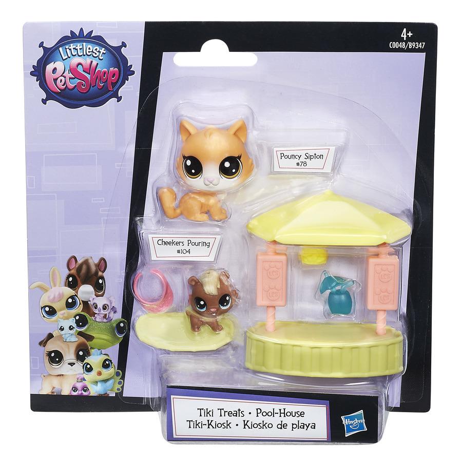 Littlest Pet Shop Tematický set se 2 zvířátky