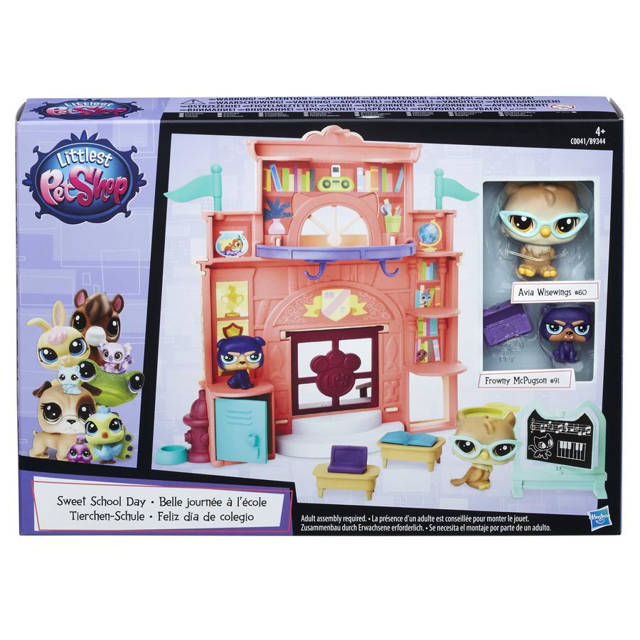 Littlest Pet Shop Hrací set se 2 zvířátky