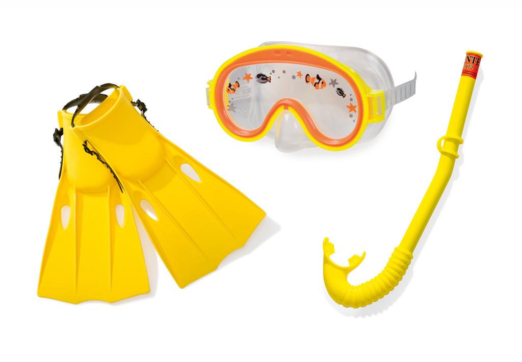 Dětská potápěčská sada s ploutvemi a šnorchlem