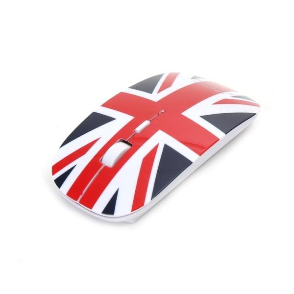 OMEGA bezdrátová myš OM-414, 1600DPI, UNITED KINGDOM