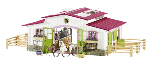 Schleich Horse Club Riding centre with rider + horse