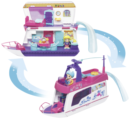 VTech Flipsies Sandys House & Ocean Cruiser