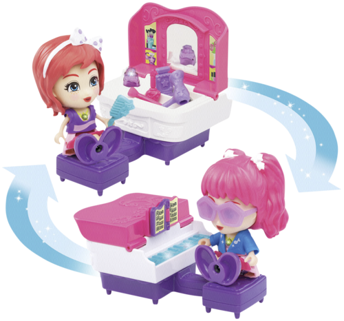 VTech Flipsies Jazz' Vanity Table and Piano