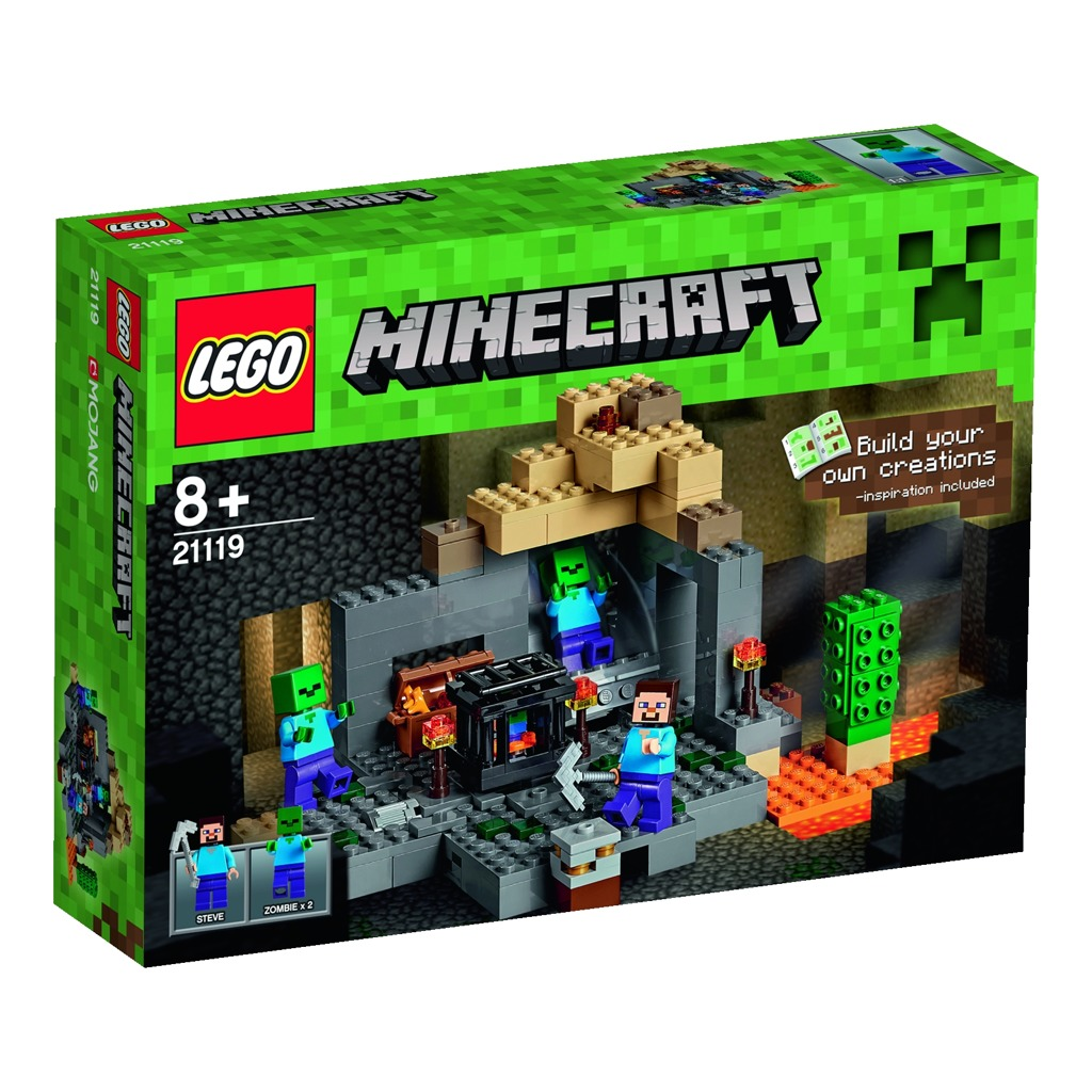 LEGO Minecraft Hladomorna