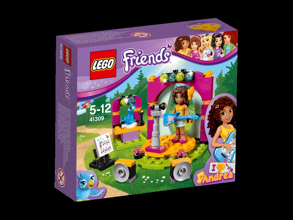 LEGO Friends Andrea a její hudební duet