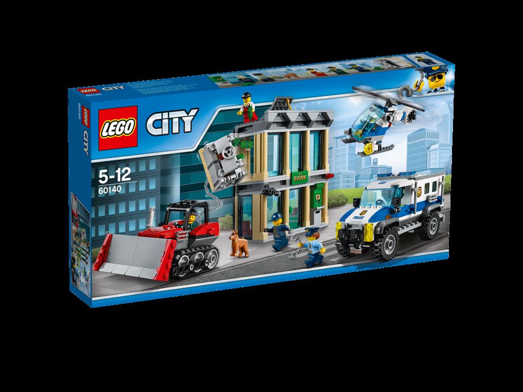Lego City Vloupání buldozerem