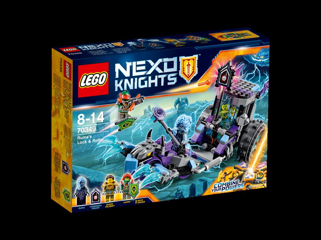 LEGO Nexo Knights Ruina a mobilní vězení