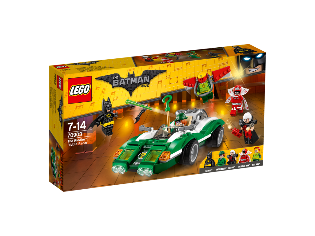 Lego Batman Movie Hádankář a jeho vůz Riddle Racer