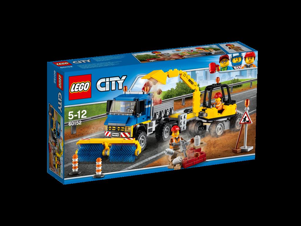 Lego City Zametací vůz a bagr
