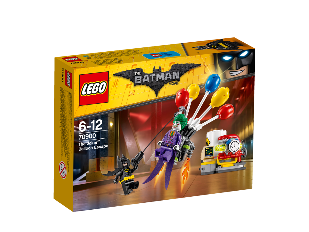 Lego Batman Movie Jokerův útěk v balónu