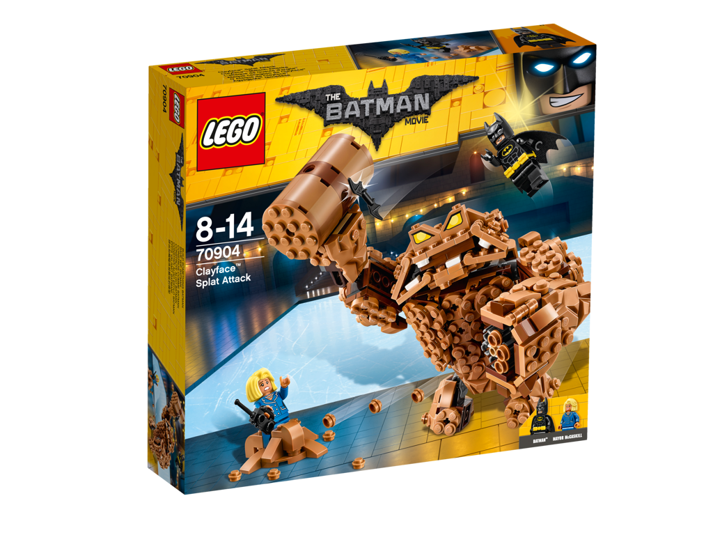 Lego Batman Movie Clayfaceův bahnitý útok