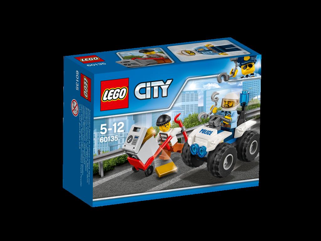 Lego City Zatčení na čtyřkolce