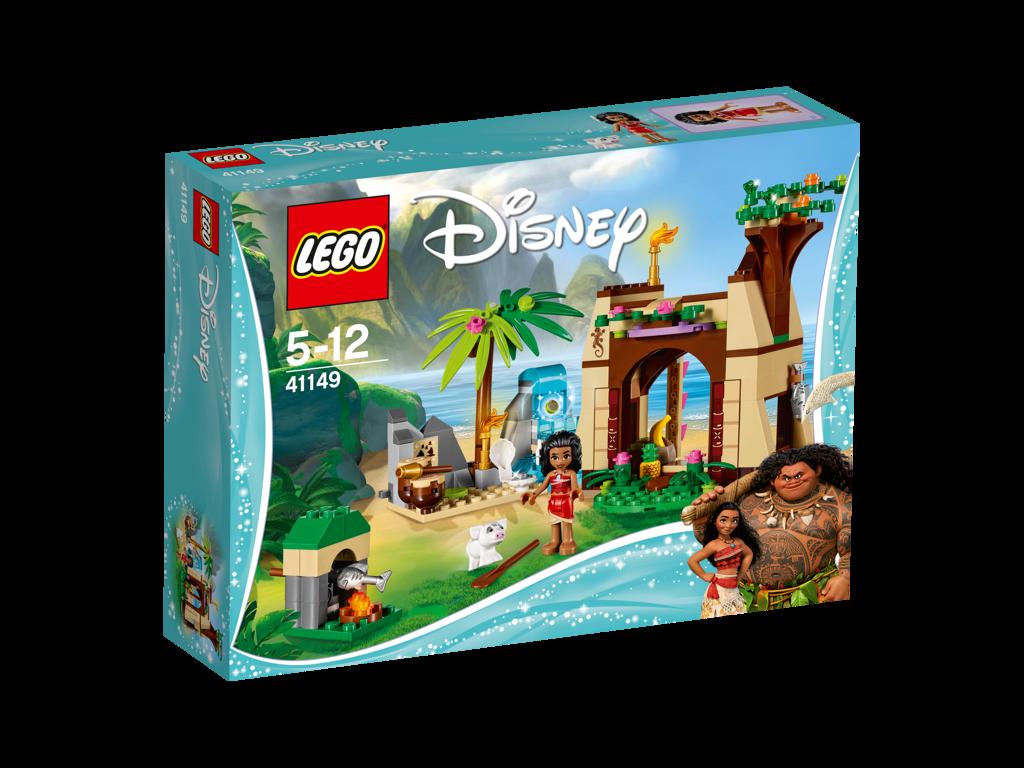LEGO Disney Vaiana a její dobrodružství na ostrově