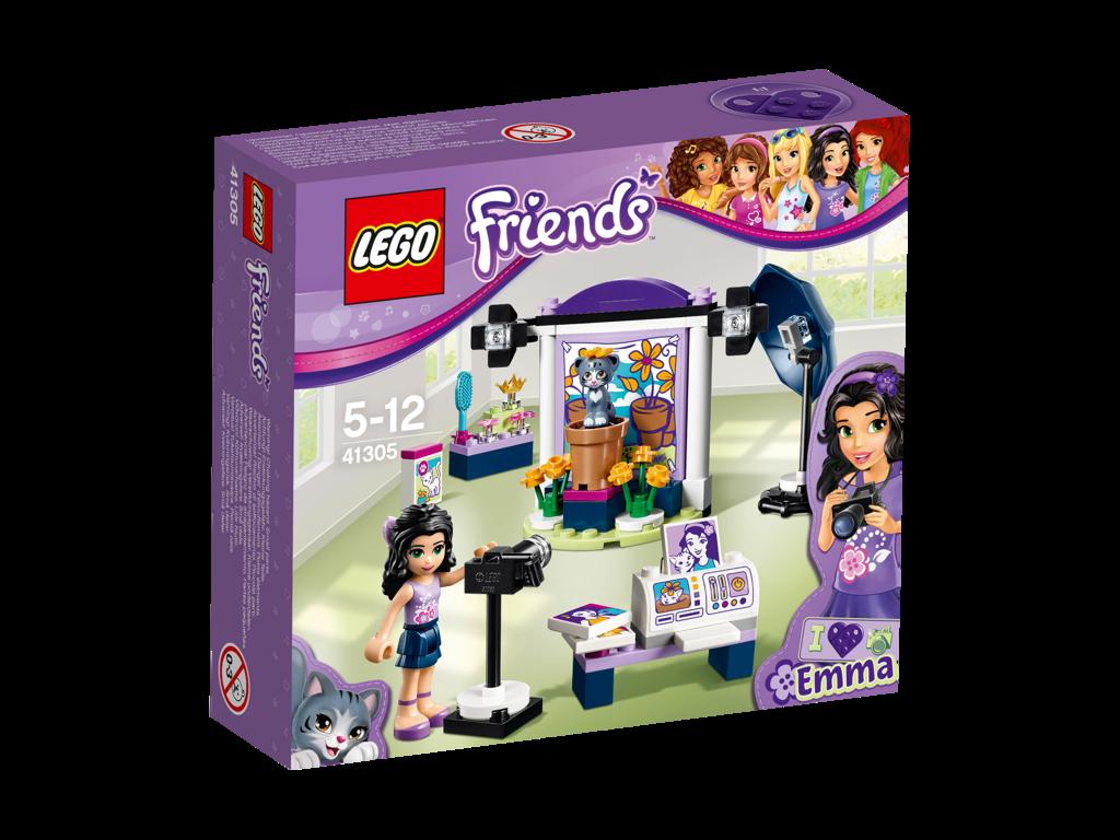 LEGO Friends Emma a fotografický ateliér