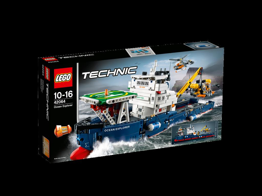 LEGO Technic Výzkumná oceánská loď