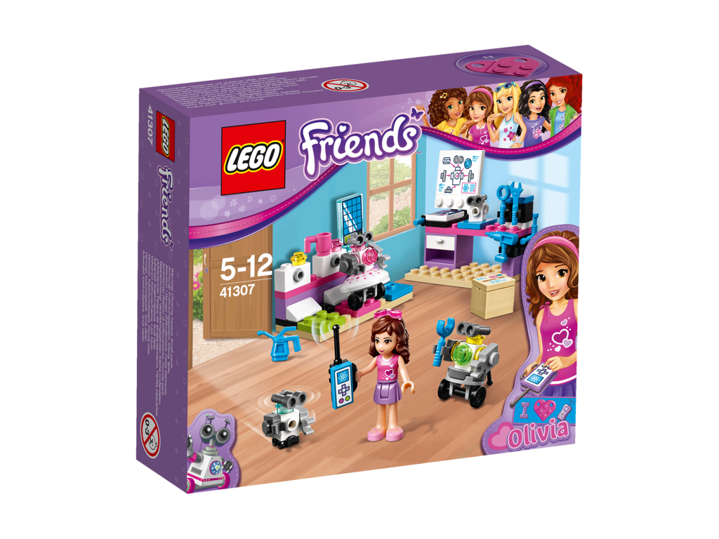 LEGO Friends Olivia a tvůrčí laboratoř