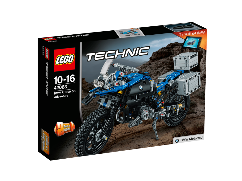 LEGO Technic 42063 BMW R 1200 GS Adventure