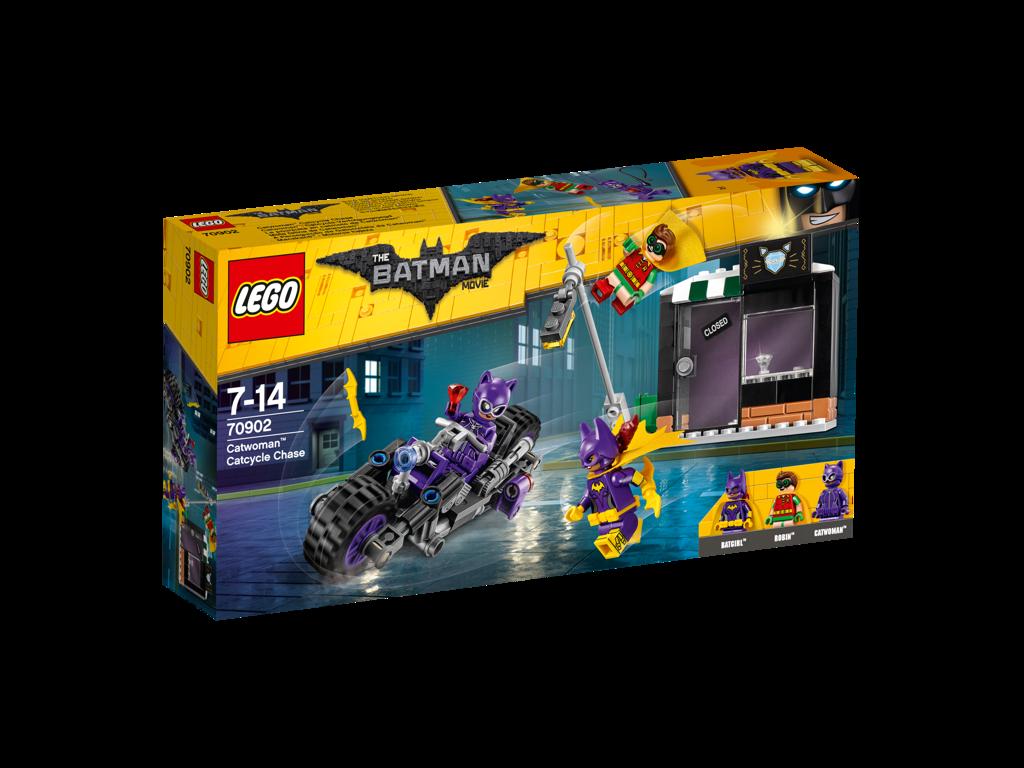 Lego Batman Movie Catwoman™ a honička na Catcycle