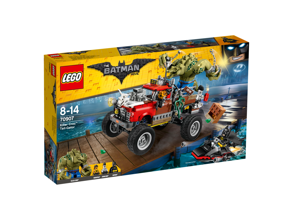 Lego Batman Movie Killer Crocův Tail-Gator